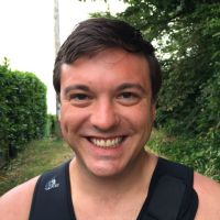 Divemaster candidate Wesley Bourgault